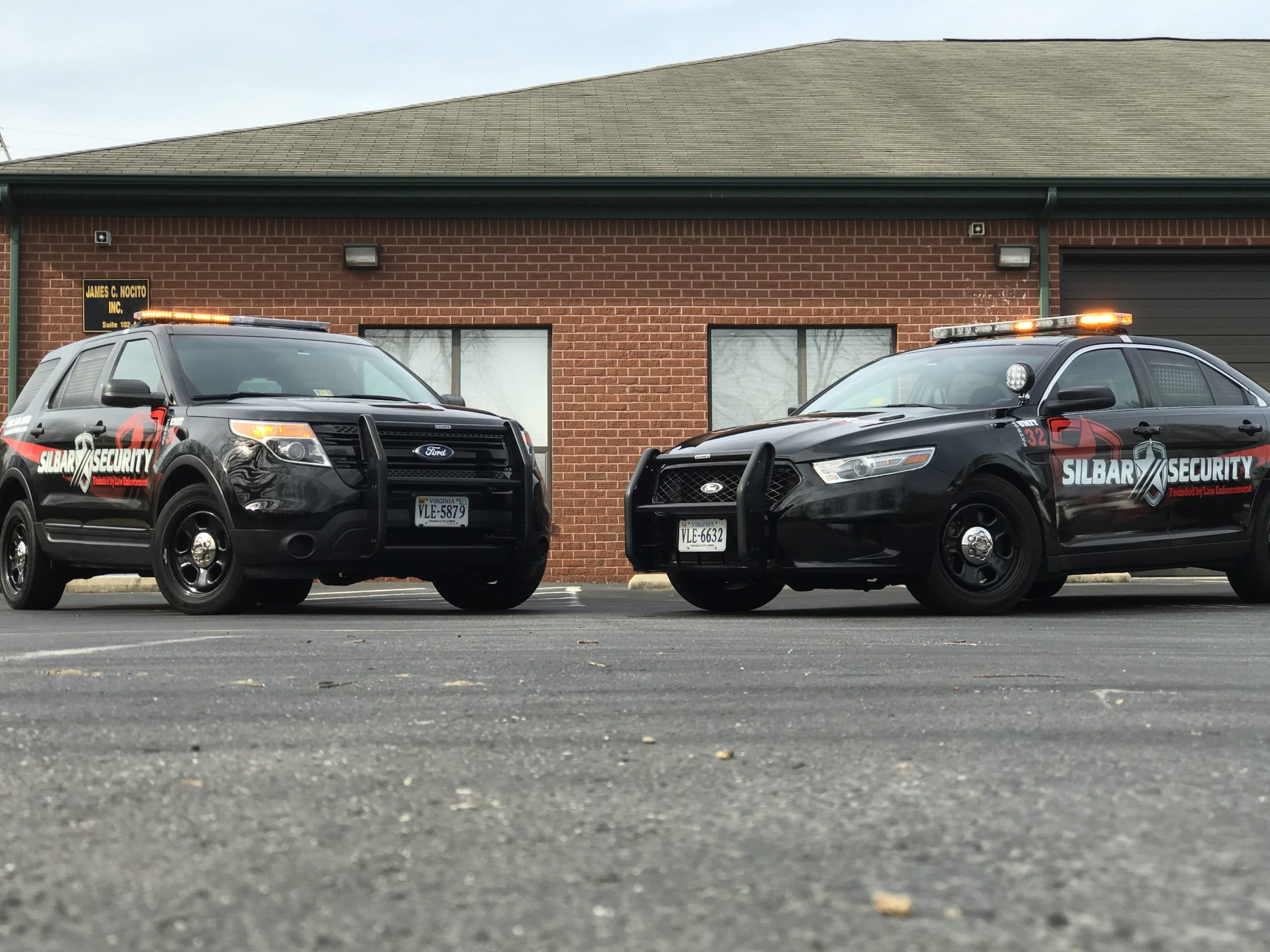 Silbar Security Marked Patrol Vehicles
